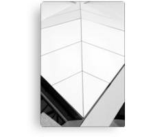 White Fin Canvas Print