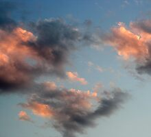 Clouds - pastel by tonni