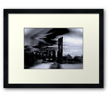 Alien Landscape #1 Framed Print