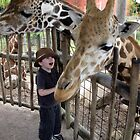 giraffe wonder by Leeanne Middleton