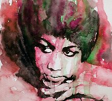 Aretha Franklin by LoveringArts