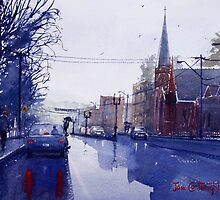 Wet Day in Bathurst, NSW by Joe Cartwright