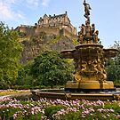 Edinburgh Castle by Claire Tennant