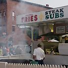 Steak Sub Stand at Market Days - Concord, New Hampshire by Morgan Tiedemann