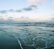 Isolation, a beach scene by Emma N
