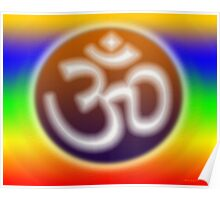 The Vibration of Om Poster
