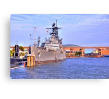 USS Little Rock Canvas Print