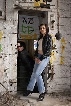 PhotoShoot in the old mill #034 by Andy Beattie