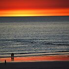 Burning Sky, Cable Beach, Broome WA by Jeddaphoto
