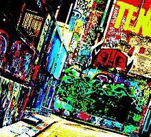 Twlight Alley by Greyman