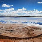 Salty Plains, Merredin, WA by Jeddaphoto