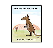 The Erosion Of Photographers  Photographic Print