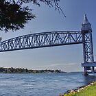 Cape Cod Canal Railroad Bridge, Massachusetts by AnnDixon