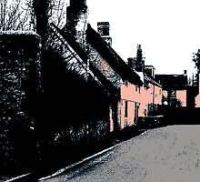 Somerset Cottages by Andrew  Bailey