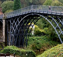 The Ironbridge Shropshire by Tom Curtis