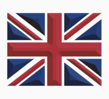 British Union Jack (Chisel Hard); UK flag by TOM HILL - Designer