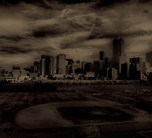 Baseball feild in denver by Tyler Johnson