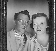 Sherl & Eleanor '56 by Gene Walls