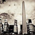 Buenos Aires - 9 de julio by Vincent Riedweg