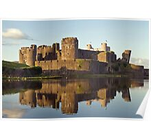 Caerphilly Reflections Poster