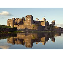 Caerphilly Reflections Photographic Print