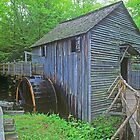 Cable Mill in Cades Cove by Rick Montgomery