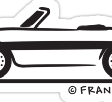 Alfa Romeo Spider Duetto Sticker