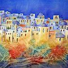 Memories of Santorini by bevmorgan