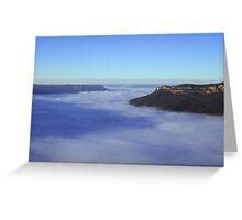 Cloud River #1 Greeting Card