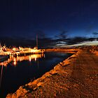 Night Harbour, Fremantle, WA by Jeddaphoto