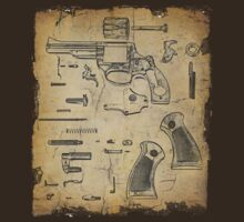Revolver - Exploded View by bungeecow