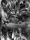 The Chief of Boca Da Valeria ~ B&W by Lucinda Walter