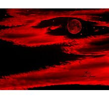 PLANET IN FURY!!!  ENIGMA!! Photographic Print