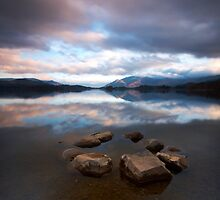 Lakeside Stone Circle by Jeanie