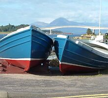 Scottish dinghys by Allison Peters