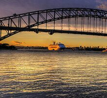 Point To Point - Sydney Harbour, Sydney - The HDR Experience by Philip Johnson