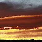 Sunrise over Perseus Circuit by MaluMoraza