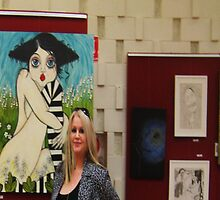 Outsiders Festival -- Exibition Adelaide by Barbara Cannon  ART.. AKA Barbieville