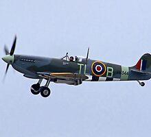Spitfire Mk IX - Shoreham Airshow 2010 by Colin J Williams Photography
