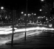 "Melbourne - ""Streetscape"" #2 by Belinda J Bennett"