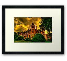 Castles of Brookline, Ma  - I Framed Print