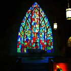 Stained Glass Reflections by Mattie Bryant