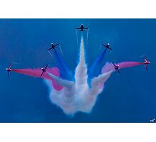 The Red Arrows Perform at Airbourne 2010 Photographic Print