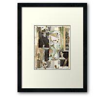 lonely myth  Framed Print