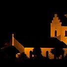 Hov Church at night by wendywoo1972