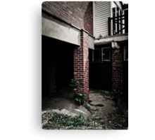 Abandoned Post Canvas Print