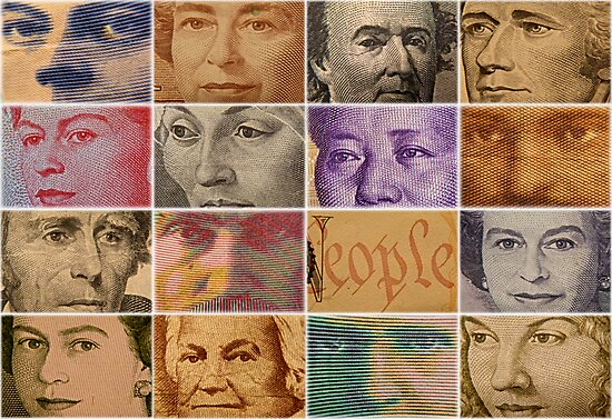Peopled Money by Michael Rubin