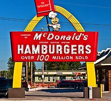 Hambugers $ .15 by Tim Denny