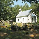 Cades Cove Missionary Baptist Church by © Bob Hall