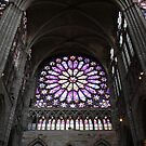 St. Denis - North Rose Window by Gothman